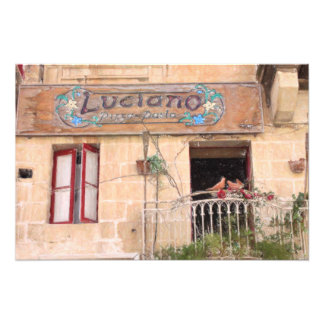 Luciano's Pizza Photo Art