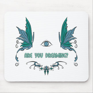 Lucid dreaming mouse pad. mouse pad