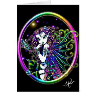 Lucida Crystal Rainbow Fairy Card