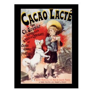 Lucien Lefevre Cacao Lacte Postcard