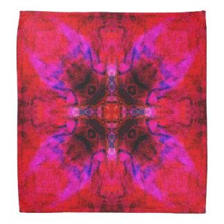 Lucifer blossom mandala bandana