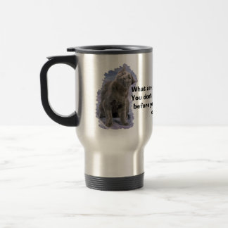 Lucifer Mug, Lucifer Mug, What are you staring ... Travel Mug