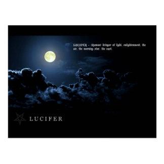LUCIFER POSTCARD
