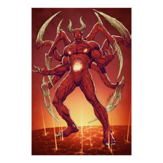Lucifer the Devil the Prince of Darkness Satan Poster