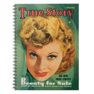 Lucille Ball Vintage Notebook from 1941