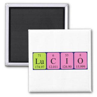 Lucio periodic table name magnet