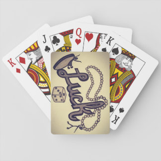 Luck Be a Lady Playing Cards