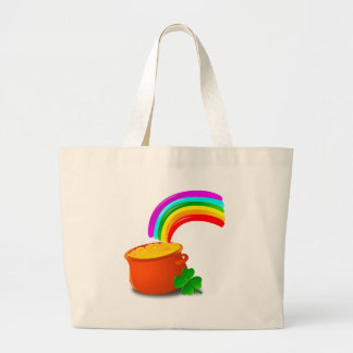 luck large tote bag