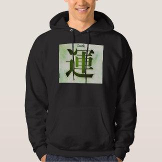 Luck mens hoodie