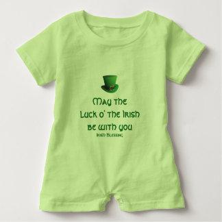 Luck o' the Irish Baby Romper