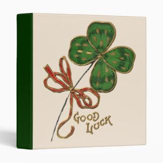 Luck O' the Irish Binder