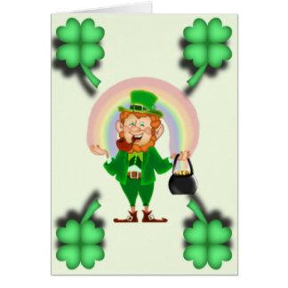 Luck O the Irish Card