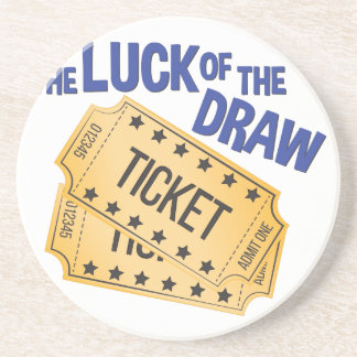 Luck Of Draw Coaster