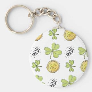 Luck Of The Irish Keychain   Irish Gifts