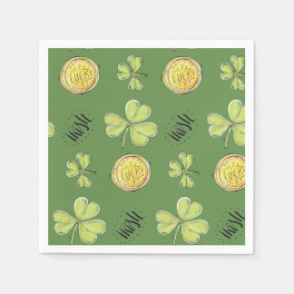 Luck Of The Irish Paper Party Napkins