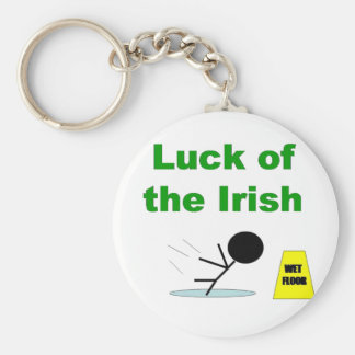 Luck of the Irish.png Keychain