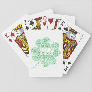 Luck of the Irish Poker Deck