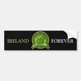 Luck of the Irish - St Patrick's day Bumper Sticker