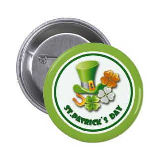 Luck of the Irish. St.Patrick's Day Buttons
