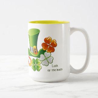 Luck of the Irish. St. Patrick's Day Gift Mug