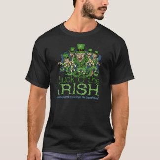 Luck of the Irish St Patricks Day Leprechauns T-Shirt