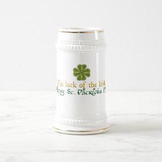 Luck of the Irish Stein