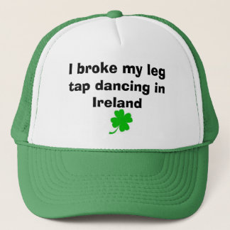 luck of the Irish Trucker Hat