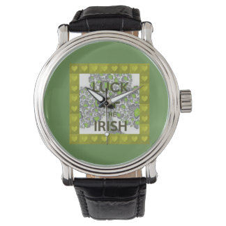 luck of the irish watch