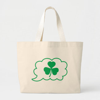 Luck Speech Canvas Bags