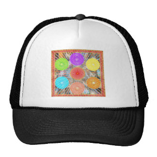 LUCKY7 Blessings Goodluck Chakra Rounds Circles Trucker Hat