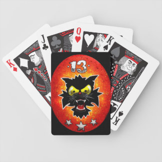 Lucky 13 playing cards