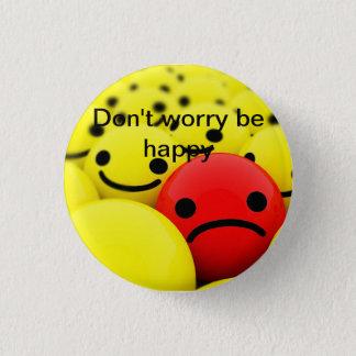 lucky 1 inch round button