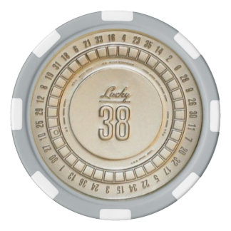 Lucky 38 Real Poker Chips