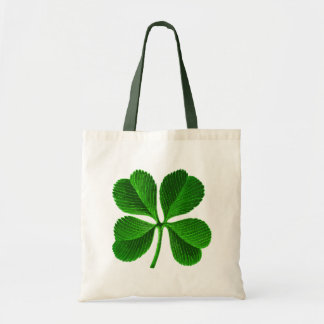 Lucky 4 Leaf Clover Tote Bag