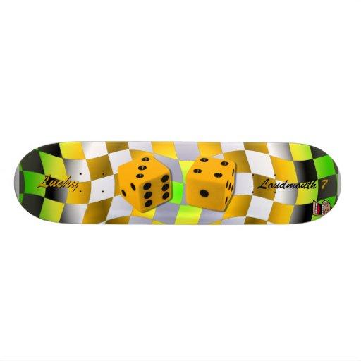 Lucky 7 skate board