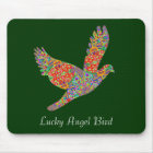 LUCKY Angel Bird Mouse Pad
