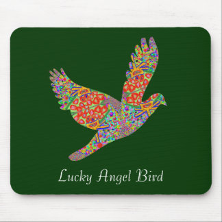 LUCKY Angel Bird Mouse Pad