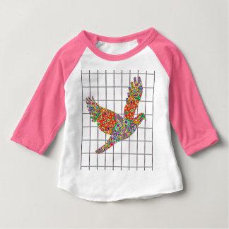LUCKY Angel Bird Texture by Navin Joshi Artist Shirts