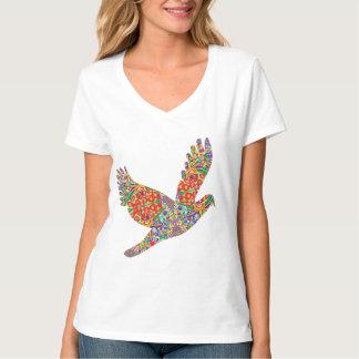 LUCKY Angel Bird. VNECK CHOICE SHIRT