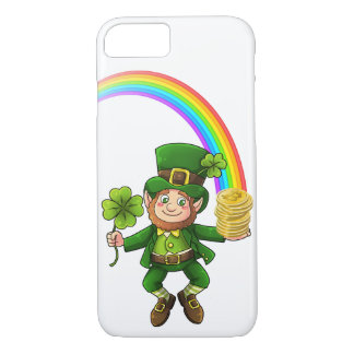 Lucky Bitcoin Rainbow Leprechaun iPhone 8/7 Case