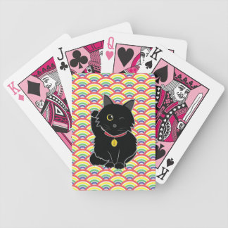 Lucky Black Cat Zelda Playing Cards