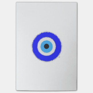 Lucky Blue Eye Post-it® Notes 4 x 6