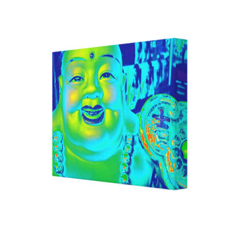 """Lucky Buddha"" Canvas Print"