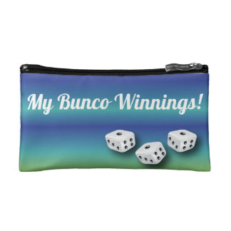 Lucky Bunco Dice Winnings Bag