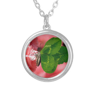 Lucky Butterfly Silver Plated Necklace