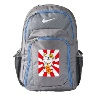 Lucky cat (A) Backpack