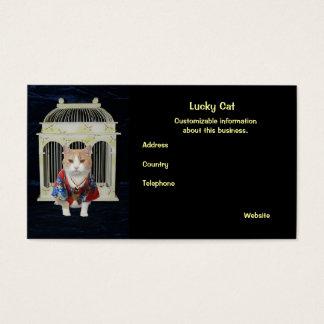 Lucky Cat Business Card