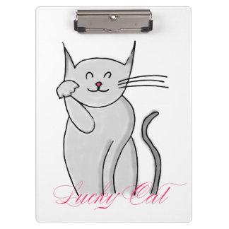 Lucky Cat Clipboard