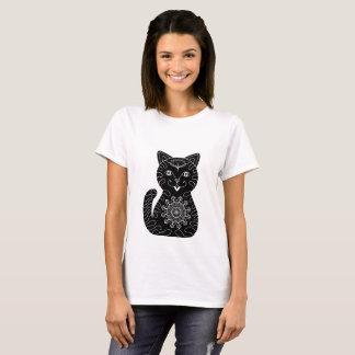 Lucky Cat Mandala T-Shirt
