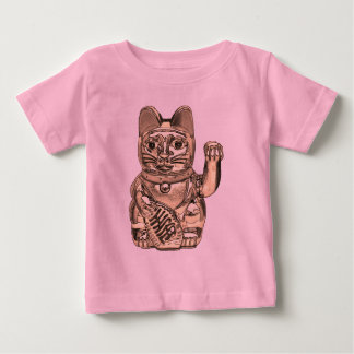 Lucky cat, Maneki-neko Baby T-Shirt